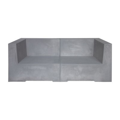 CONCRETE 2Θέσιος Kαναπές Cement Grey