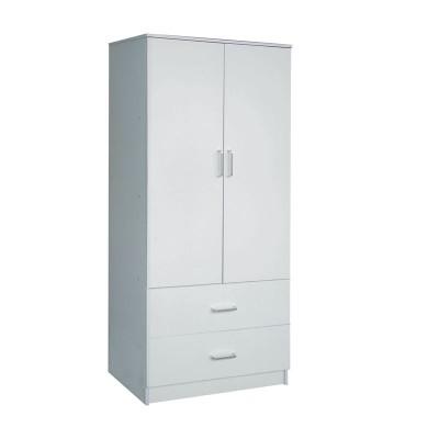 CLOSET Ντουλάπα 80x50x180cm Άσπρη