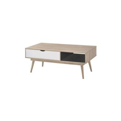 ALIDA Τραπ.Σαλονιού 120x60x50 Sonoma/Άσπρο