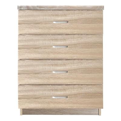 DRAWER Συρταριέρα 4-Συρτάρια 60x40x80cm Sonoma