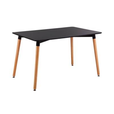 ART Τραπέζι 120x80cm Μαύρο