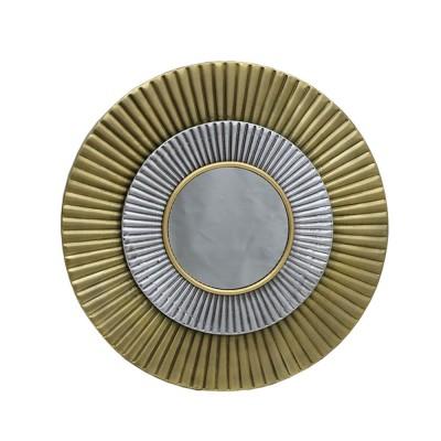SOLAR ΚΑΘΡΕΠΤΗΣ ΤΟΙΧΟΥ ΧΡΥΣΟ ΑΣΗΜΙ D62x4,5cm