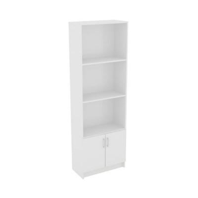 DECON Βιβλιοθήκη 60x29x180cm Άσπρη