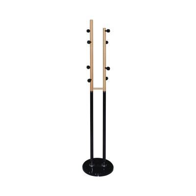 NORDIC DUO Καλόγερος Μεταλλικός Μαύρος/Φυσικό