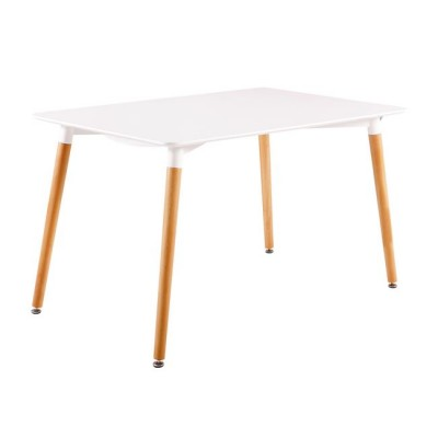 ART Τραπέζι 120x80cm Λευκό