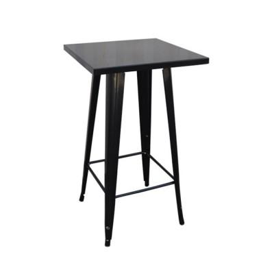 RELIX Τραπέζι BAR 60x60 Μεταλ.Antique Black