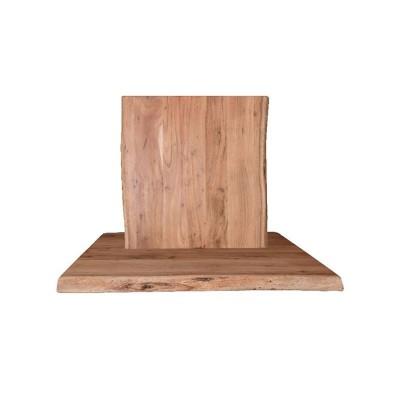 LIZARD Καπάκι 110x70/4cm, Ακακία Φυσικό