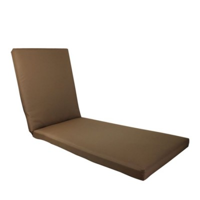 SUNLOUNGER Μαξ.Ξαπλ.Καφέ Ύφ.Water Repellent 196(78+118)x60/7 Velcro