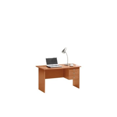 SIGNAL Γραφείο με 3 Συρτάρια Απόχρωση Cherry