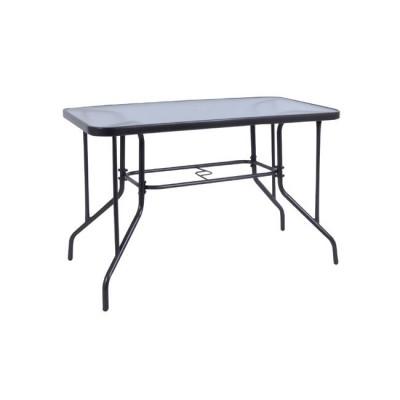 BALENO Τραπέζι 110x60cm Μεταλ.Γκρι