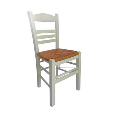 ΣΙΦΝΟΣ Καρέκλα Εμποτισμός Λάκα Άσπρο