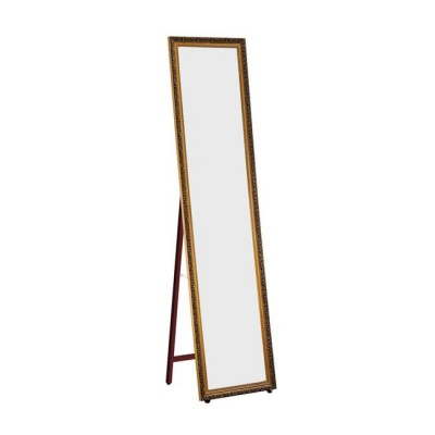 MIRROR Καθρέπτης Δαπέδου/Τοίχου 40x148 Γύψινος, Gold Brown