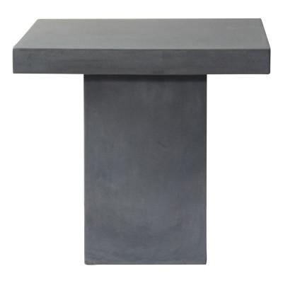 CONCRETE Cubic Τραπέζι 80x80cm Cement Grey