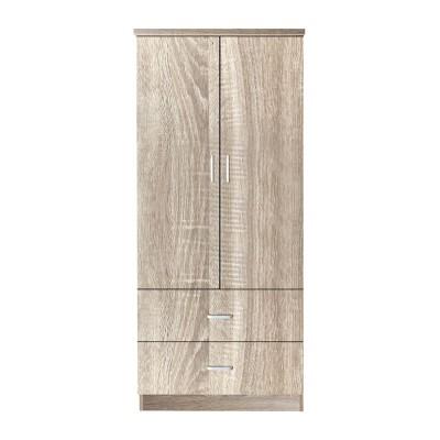 CLOSET Ντουλάπα 80x50x180cm Sonoma