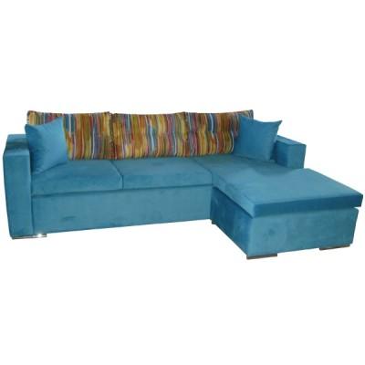 γωνιακός καναπές ελληνικής κατασκευής 240*160 krj alex