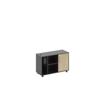 PROJECT Ντουλάπι Πλαϊνό 100x40x62cm Sonoma/Γκρι
