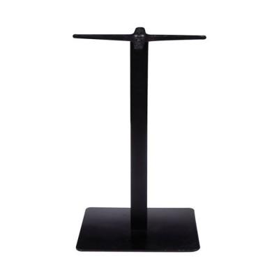 PRATO Βάση 50x50cm Steel H72cm Μαύρη