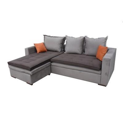 γωνιακός καναπές ελληνικής κατασκευής 240*170 krj dioni