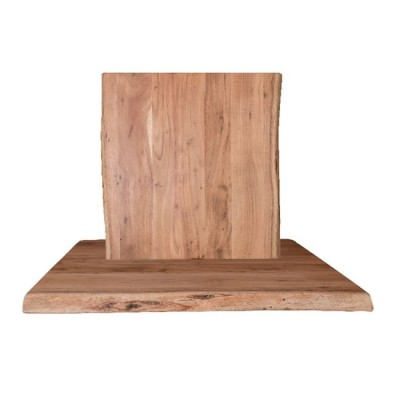 LIZARD Καπάκι 80x80/4cm, Ακακία Φυσικό