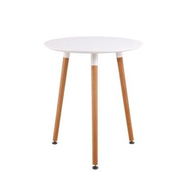 ART Τραπέζι Φ60/H68cm Λευκό