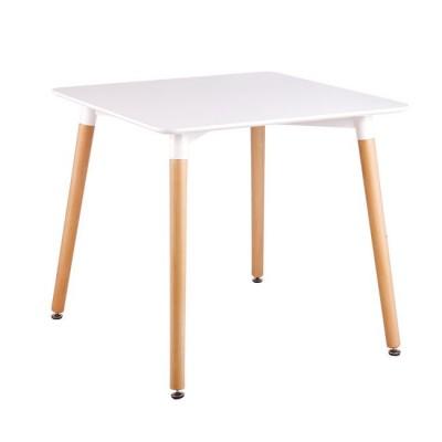 ART Τραπέζι 80x80cm Λευκό