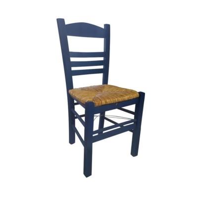 ΣΙΦΝΟΣ Καρέκλα Εμποτισμός Ανιλίνη Μπλε