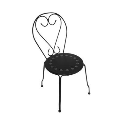 BISTRO Καρέκλα Μεταλ.Μαύρη