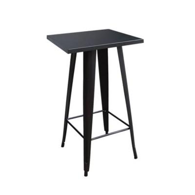 RELIX Τραπέζι BAR 60x60 Μεταλ.Μαύρο