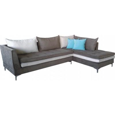 Γωνιακός καναπές ελληνικής κατασκευής 280*180*85 krj cleio