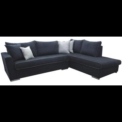 γωνιακός καναπές ελληνικής κατασκευής 275*210*90 krj fiona