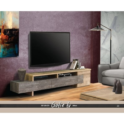 GOTIE ΕΠΙΠΛΟ TV 260x40xH53CM