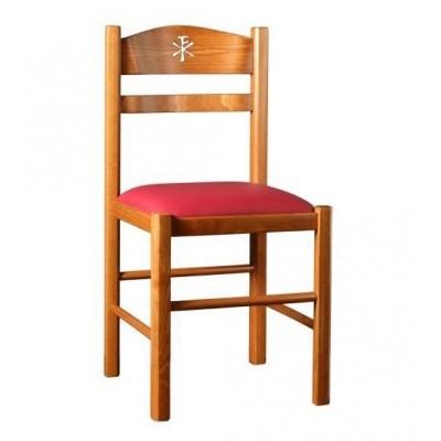 καρέκλα εκκλησίας ελληνικής κατασκευής XLF k01xp