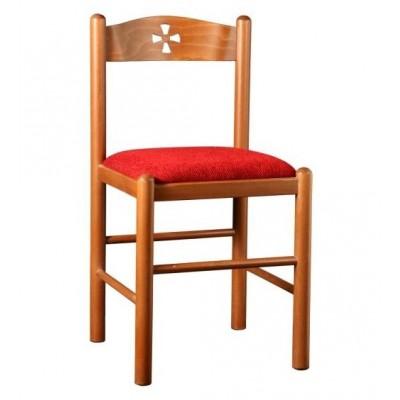 καρέκλα εκκλησίας ελληνικής κατασκευής XLF k02xp
