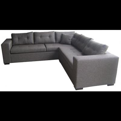 γωνιακός καναπές ελληνικής κατασκευής 260*260 krj kely