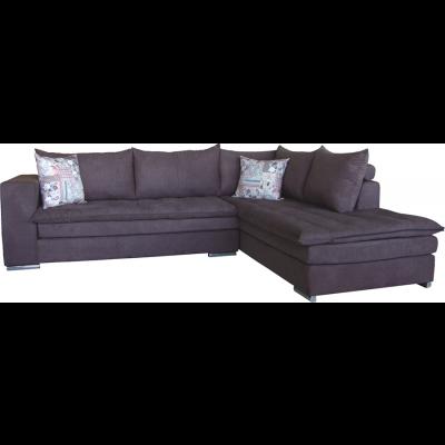 γωνιακός καναπές ελληνικής κατασκευής 265*210 krj tommy