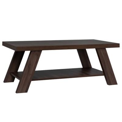 BANJI COFFEE TABLE 120x60x46Ycm ΚΑΡΥΔΙ