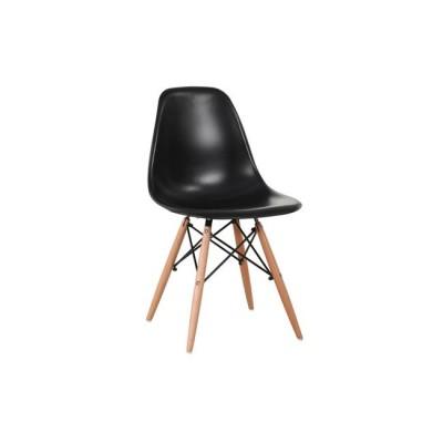 ART Wood Καρέκλα PP Μαύρο