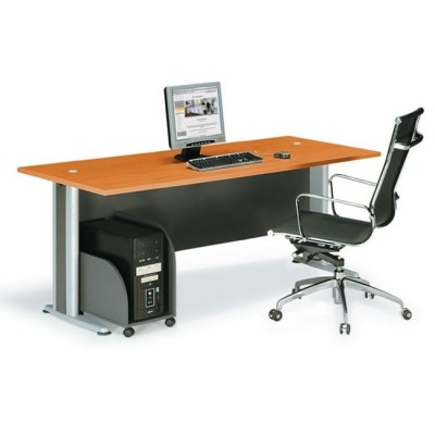 BASIC Γραφείο Απόχρωση Dark Grey - Cherry
