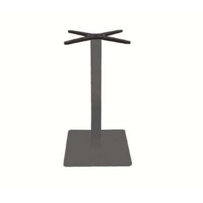 PRATO Βάση 40x40cm Steel H72cm Γκρι