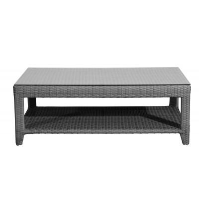Rattan Βοηθητικό Τραπεζάκι (Coffee Table) 130 x 65 x 42(h)cm