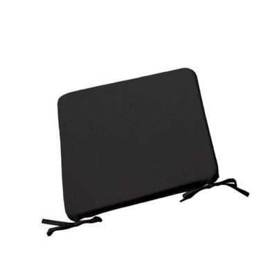 CHAIR Μαξιλάρι 42x42/3cm Μαύρο