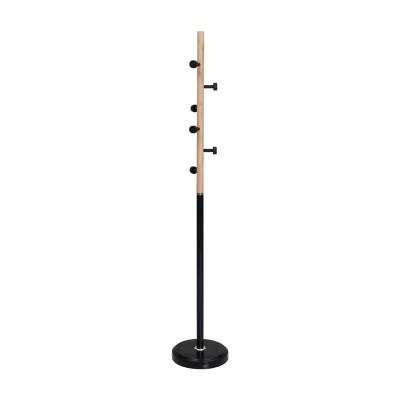 NORDIC Καλόγερος Μεταλλικός Μαύρος/Φυσικό