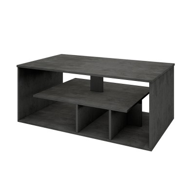GATE COFFEE TABLE CEMENT 110x65xH46cm