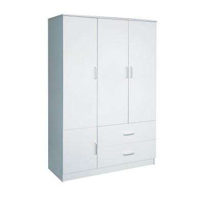CLOSET Ντουλάπα 120x50x180cm Άσπρη