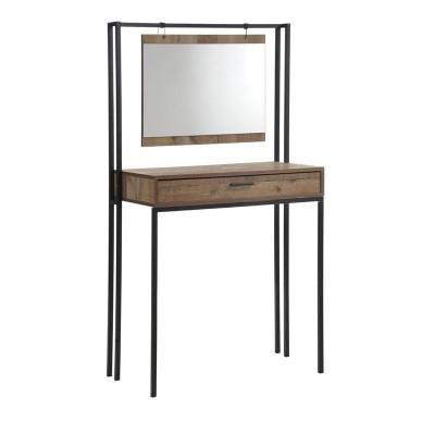 PALLET-W Τουαλέτα+Καθρέπτης 84x45x150 Antique Oak