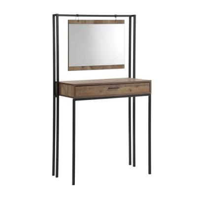 PALLET Τουαλέτα+Καθρέπτης 84x40x150 Antique Oak