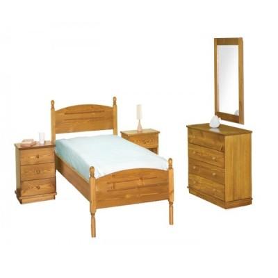 ΚΡΕΒΑΤΙ ΣΟΥΗΔΙΚΟ ΞΥΛΟ 90/110/140 XND BED No9