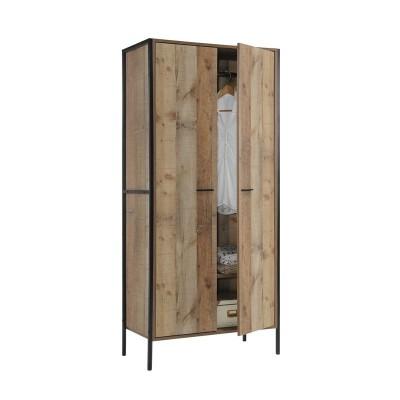 PALLET-W Ντουλάπα 84x52x180 Antique Oak