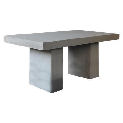 CONCRETE Τραπέζι 160x90cm Cement Grey