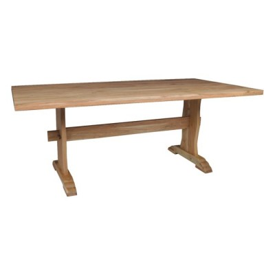 WESTERN Τραπέζι 200x100cm Ακακία Φυσικό